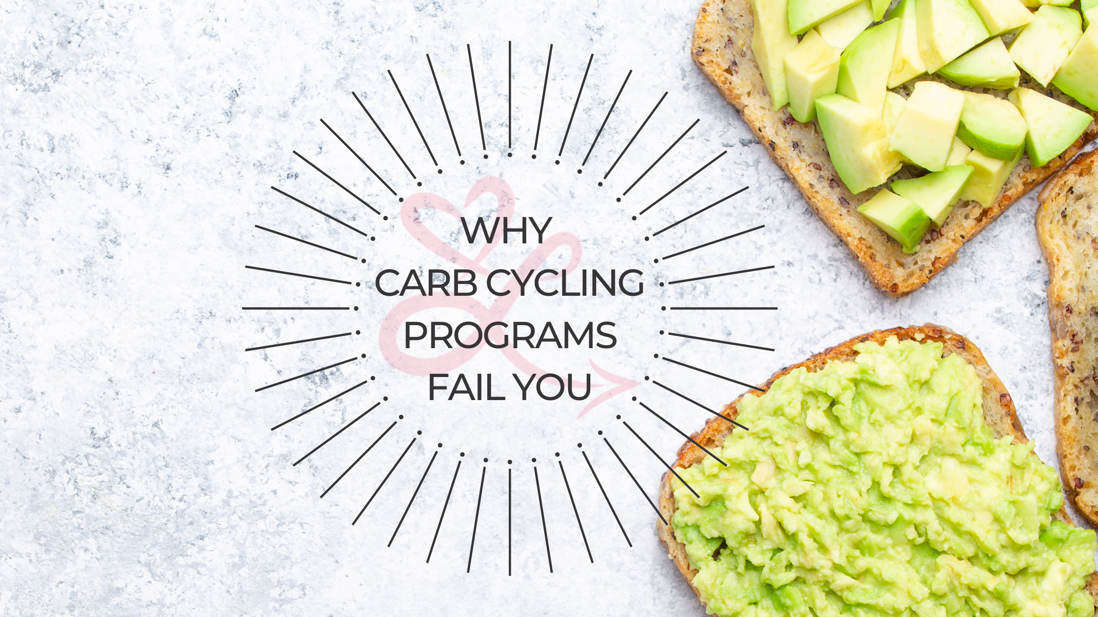 carb cycling hurts your overall wellness. Read why it fails you on loveyourselftowardshealthy.com